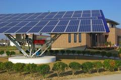Solar energy equipment Stock Images