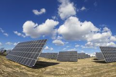 Solar energy Stock Photography