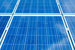 SOLAR ENERGY HARVESTER PANEL Royalty Free Stock Photography