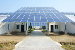 Solar energy hothouse Royalty Free Stock Photos