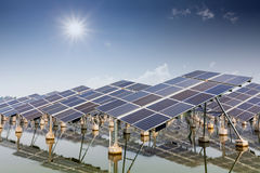 Solar energy Royalty Free Stock Photography