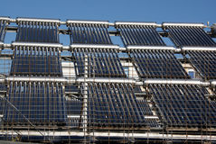 Solar energy net Stock Photos