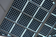Solar energy panel Royalty Free Stock Image