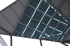 Solar energy panel Stock Photo