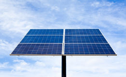 Solar energy panel. Royalty Free Stock Photos