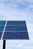 Solar energy panel. Royalty Free Stock Images