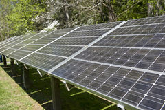 Solar Energy Panel Array Royalty Free Stock Photos