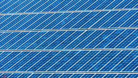 Solar energy panel cells background Stock Photography