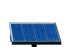 Solar energy panel isolated on white background. Electric Solar cell, solar energy, photovoltaic panel isolated on white background. Solar Energy is clean energy Stock Image
