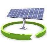 Solar Energy Panels. Stock Photos