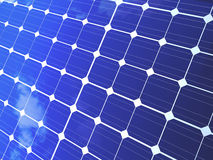 Solar Energy Panels. Solar panels for alternative and ecological energy background Royalty Free Stock Photos