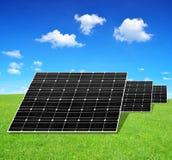 Solar energy panels Royalty Free Stock Photos