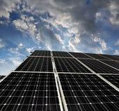 Solar energy panels Stock Photography