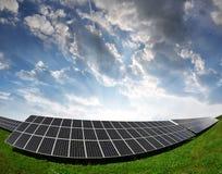 Solar energy panels Stock Images