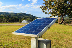 Solar energy panels. Stock Image
