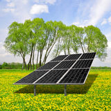 Solar energy panels Royalty Free Stock Photos