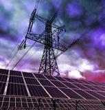 Solar energy panels Royalty Free Stock Image