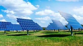 Solar energy panels . royalty free stock image