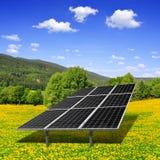 Solar energy panels Royalty Free Stock Photo