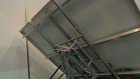 Solar Panels Tracking System stock footage