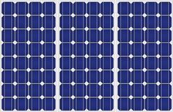 Solar energy pattern. Royalty Free Stock Images