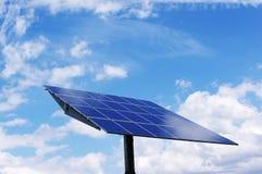 Solar energy plant. Solar power station: Clean, alternative energy Stock Photos
