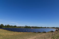 Solar energy plant Royalty Free Stock Images