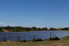 Solar energy plant Royalty Free Stock Photo