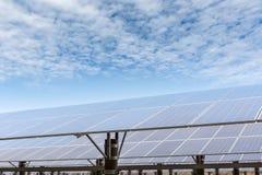 Solar energy power plant Stock Photography