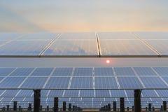 Solar energy power plant Royalty Free Stock Photo