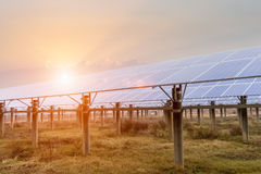 Solar energy power plant Royalty Free Stock Photography