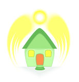 Solar Energy Protection Royalty Free Stock Photography