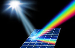 Solar energy renewable energy concept Stock Images