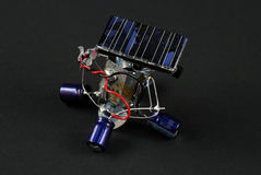 Solar energy robot Royalty Free Stock Images