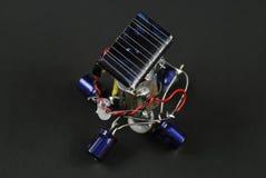 Solar energy robot Royalty Free Stock Photo