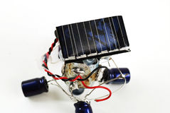 Solar energy robot Stock Photos