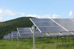 Solar energy, solar panels, renewables Stock Photos