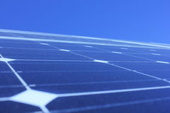 Solar energy, solar panels, renewables, PV modules Royalty Free Stock Photography