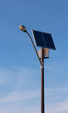 Solar energy street lamp Stock Photos