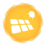 Solar energy template Royalty Free Stock Photography