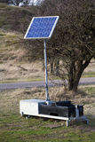 Solar energy unit Stock Photography