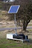 Solar energy unit Stock Photography