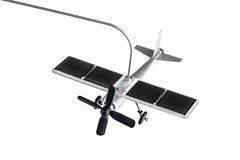 Solar equipped toy stock images