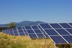 Solar Farm Stock Images