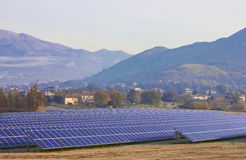 Solar farm Royalty Free Stock Photography