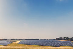 Solar Farm Stock Photography