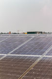 Solar Farm. At Ayutthaya Province, Thailand royalty free stock photos