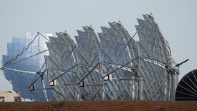 solar farm stock photos
