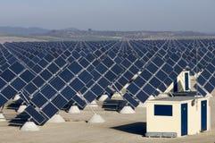 Solar field Stock Image