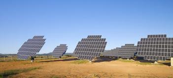 Solar field Royalty Free Stock Photos